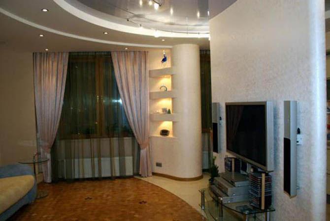 пример интерьер однокомнатной квартиры