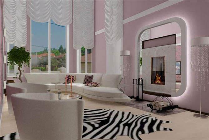 фото дизайна гостинной комнаты