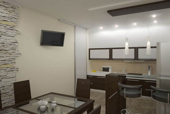 дизайн комнаты для занятия йогой