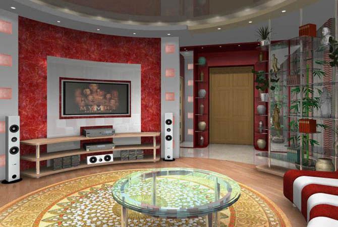 дизайн интерьера комнат для бильярда