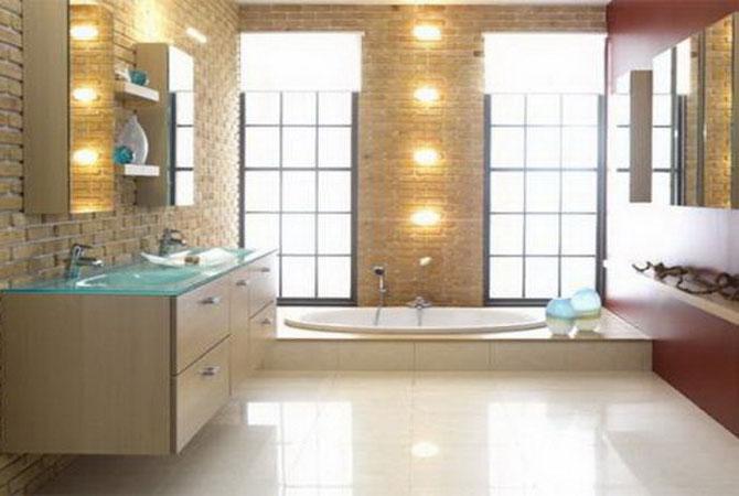 дизайн и лестниц ванной комнаты