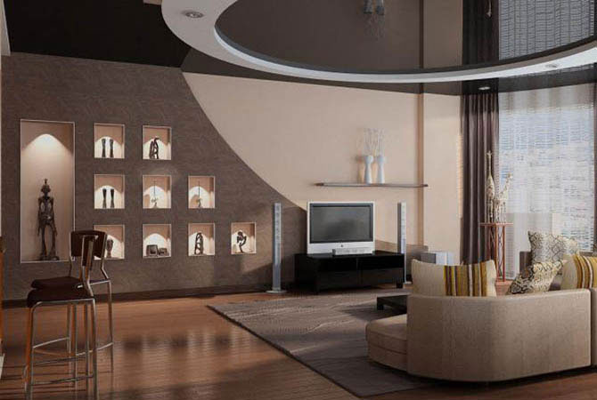фото интерьера и планировки однокомнатных квартир