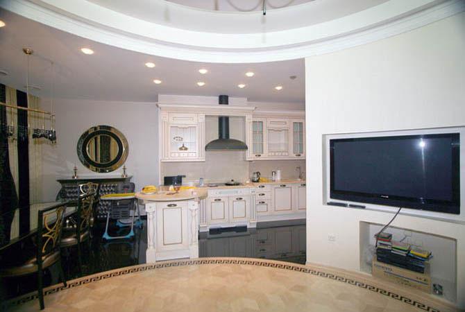 фото чёрно-белый дизайн интерьера квартиры