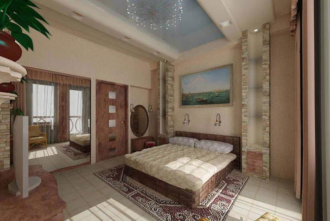 дизайн квартиры серия к-7