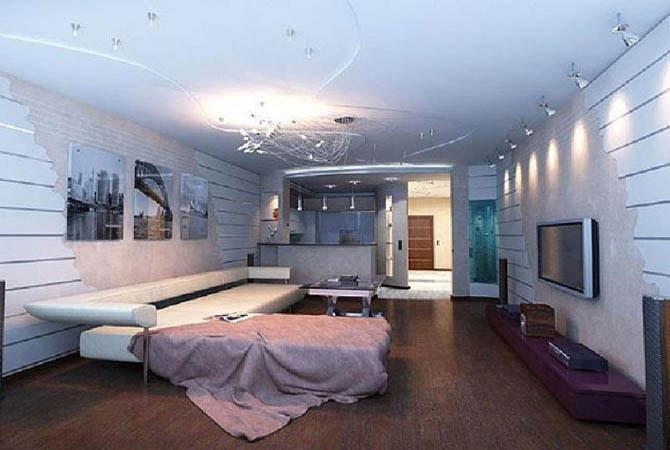 дизайн 1-комнатной квартиры в доме серии п-68