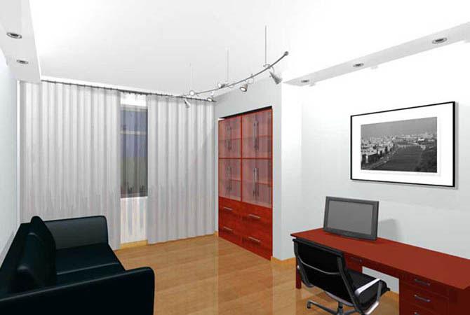 дизайн соединения комнаты с лоджией