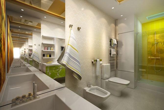 лучшие интерьеры однокомнатной квартиры