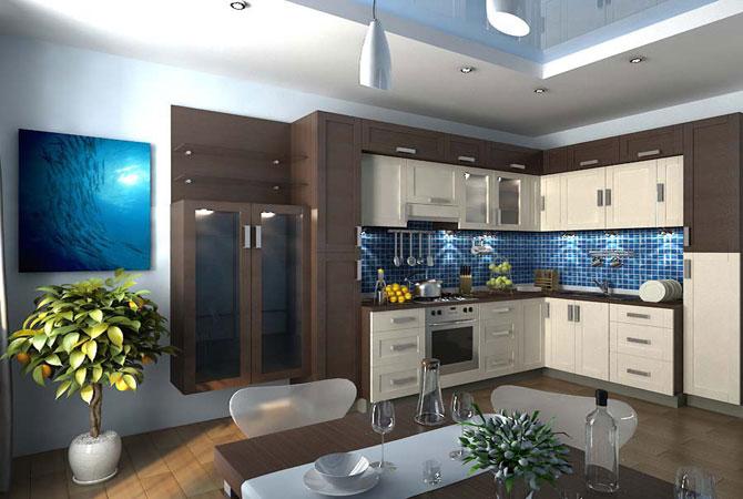 предметы интерьера и дизайн интерьера квартиры