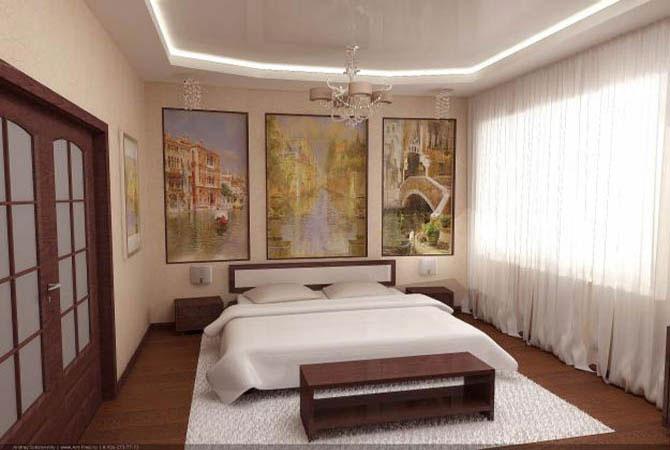 дизайн интерьера зала типовой квартиры