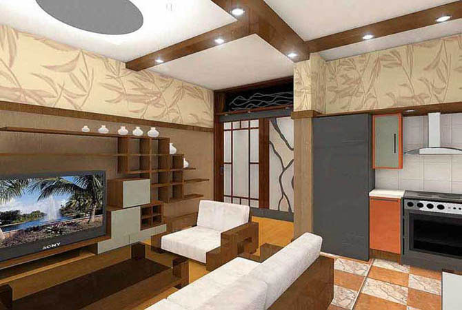 дизайн стандартных трехкомнатных квартир