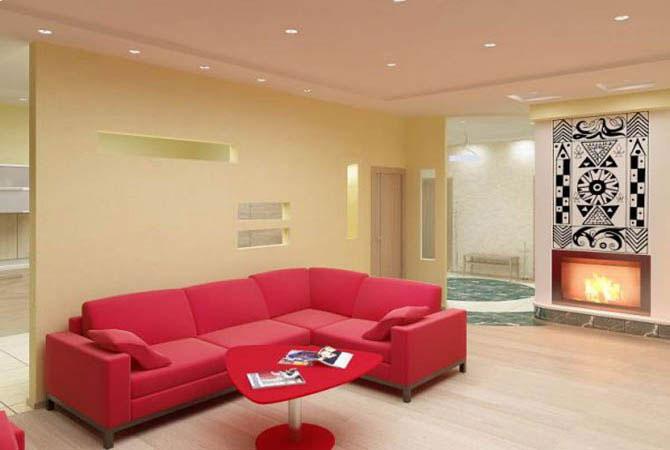 простые решения в дизайне комнаты