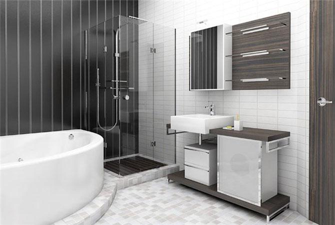 интерьер и дизайн ванных комнат