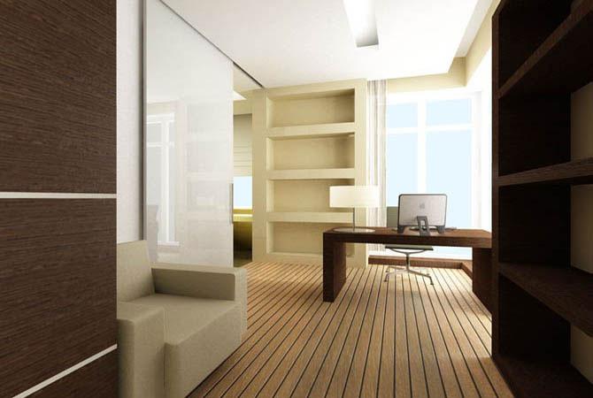 дизайн проект однокомнатной квартирыл
