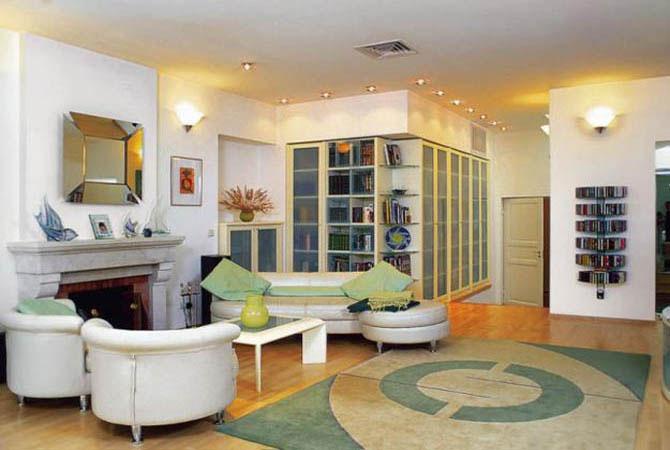 как можно по-дизайнерски оборудовать комнаты для творчества