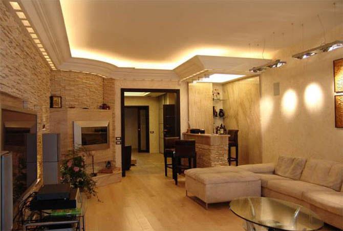 идея для интерьера квартиры