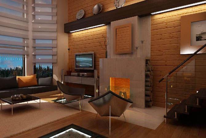 дизайн гостинной комнаты в парижском стиле