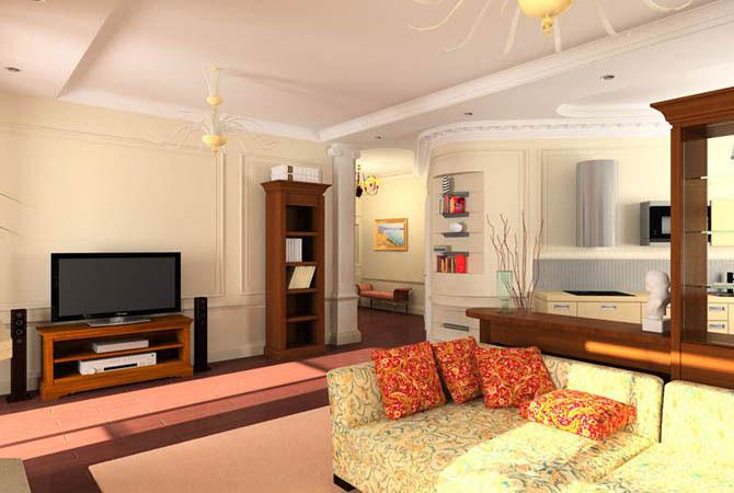 дизайн гипсокартоновых потолков в квартирах фото