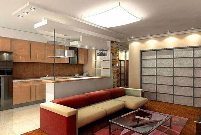 интерьер однокомнатной квартиры бесплатно