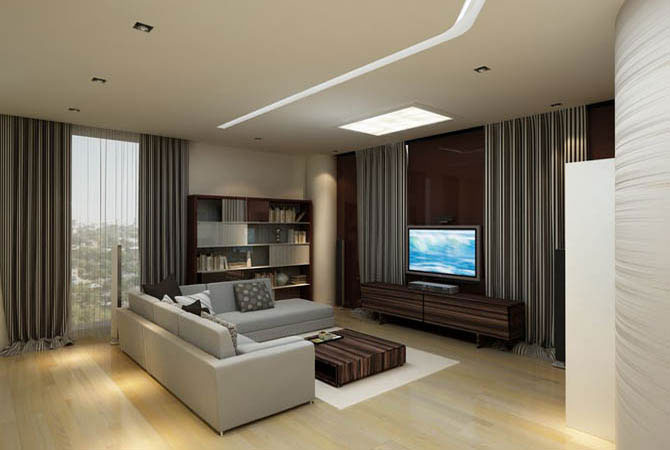 дизайн чистовой отделки квартир