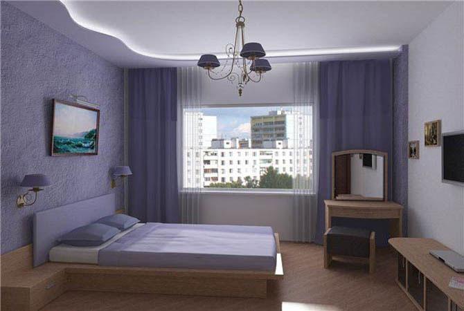 дизайн спальни для маленьких квартир