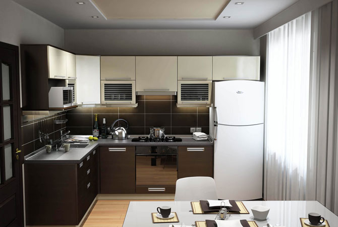 дизайн подвесних потолков квартиры фото