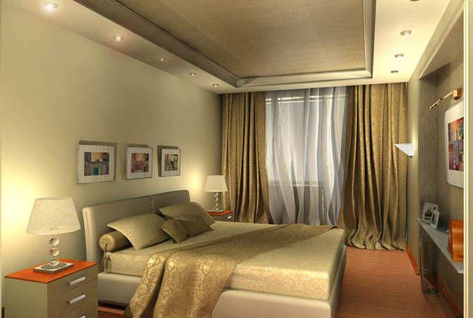 цвет спальня комната интерьер оформление