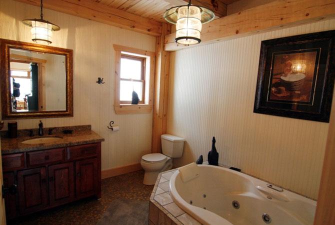 гидромассажные ванны и отделка ванной комнаты фото