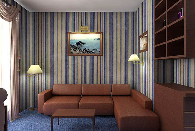 как обставить по дизайнерски гостинную комнату