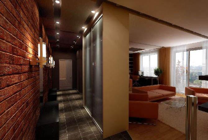 дизайн однокомнотной квартиры краснодар