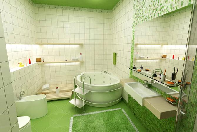 кухни и ванные комнаты отделка