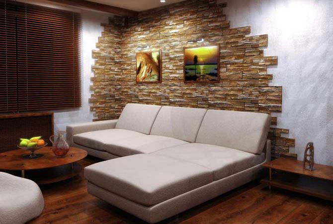 интерьер в стандартной 2-х комнатной квартире