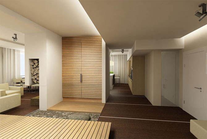 бесплатный дизайн стандартной квартиры