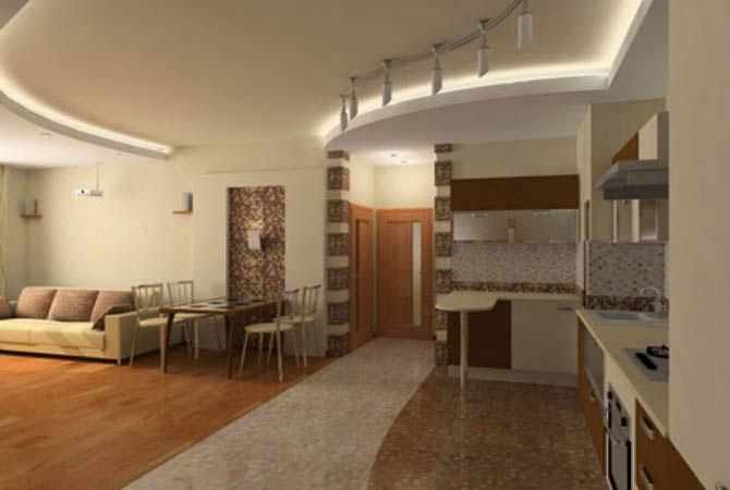 перепланировка 3 комнатной квартиры площадь-56 метров