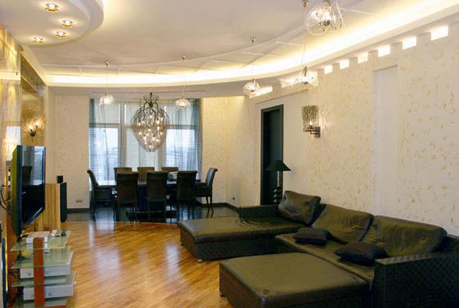 онамент в дизайне квартир